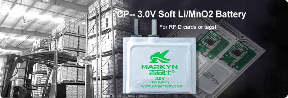 Soft Li/MnO2 Battery